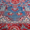 Red and Blue Patterned Carpet
