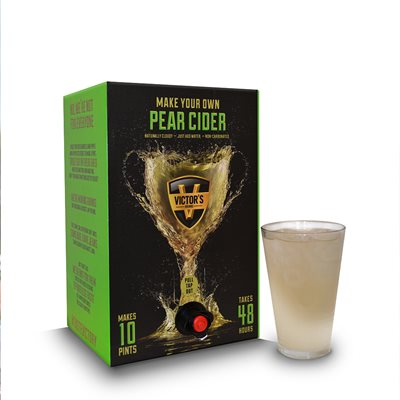 VICTOR'S DRINKS PEAR Cider Making Kit