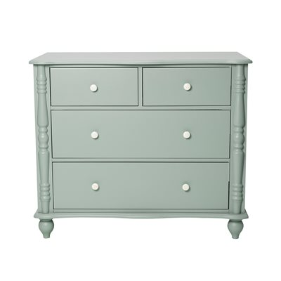 PEBBLES CHEST OF DRAWERS in Seagreen