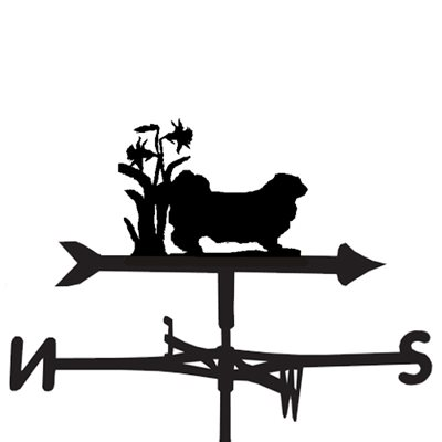 WEATHERVANE in Pekingese Dog Design