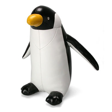PENGUIN Animal Doorstop by Zuny