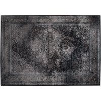 Product photograph showing Dutchbone Rugged Persian Style Carpet In Dark Medium