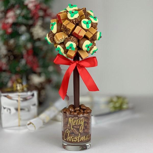 Personalised Chocolate Present Sweet Tree
