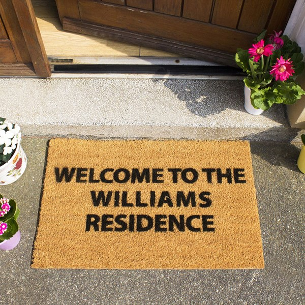 Artsy Doormats Personalised Door Mat