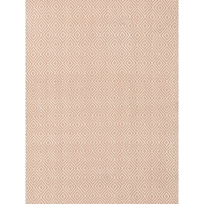 INDOOR OUTDOOR PETIT DIAMOND RUG in Dusty Pink and Ivory