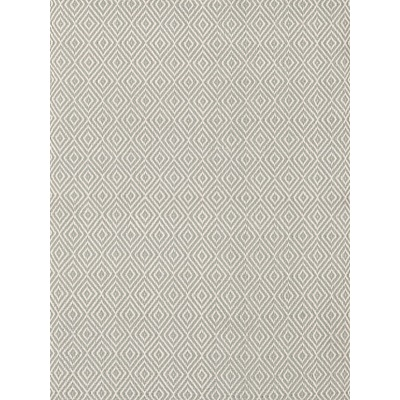 INDOOR OUTDOOR PETIT DIAMOND RUG in Light Blue and Ivory