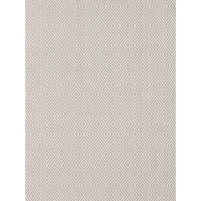 INDOOR OUTDOOR PETIT DIAMOND RUG in Platinum and Ivory
