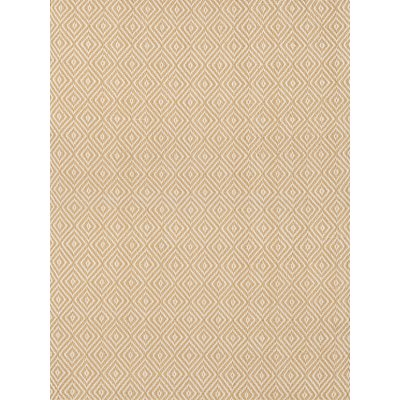 INDOOR OUTDOOR PETIT DIAMOND RUG in Wheat and Ivory