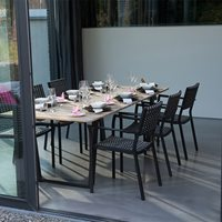 PIAZZA GARDEN TABLE AND CHAIRS by 4 Seasons Outdoor