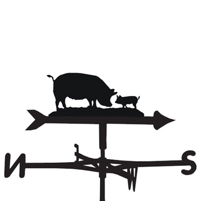 WEATHERVANE in Pigs Design