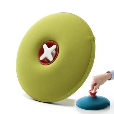 Award Winning PILL Hot Water Bottle in Lime Green