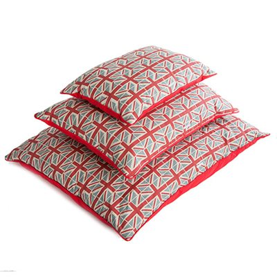DOG PILLOW BED in Union Jack Design