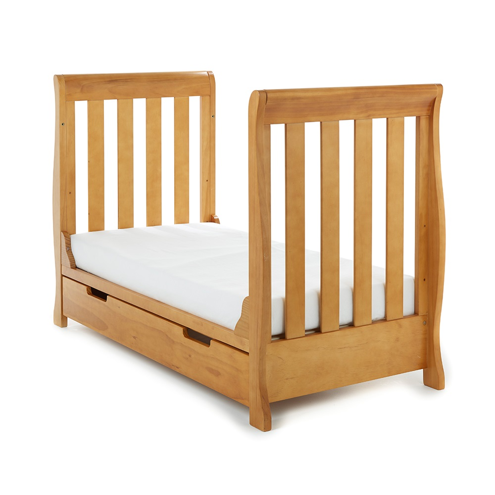 Pine Mini Toddler Bed By Obaby
