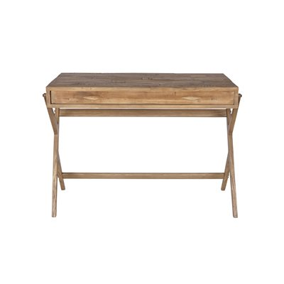 WOODEN WRITING DESK in Natural Pine
