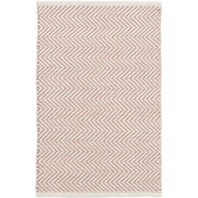 INDOOR OUTDOOR ARLINGTON RUG in Pink Ivory
