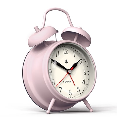 NEWGATE COVENT GARDEN Alarm Clock in Pink