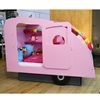 Unique Girls Caravan Bed in Pink