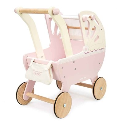 Le Toy Van Sweet Dreams Pram in Pink