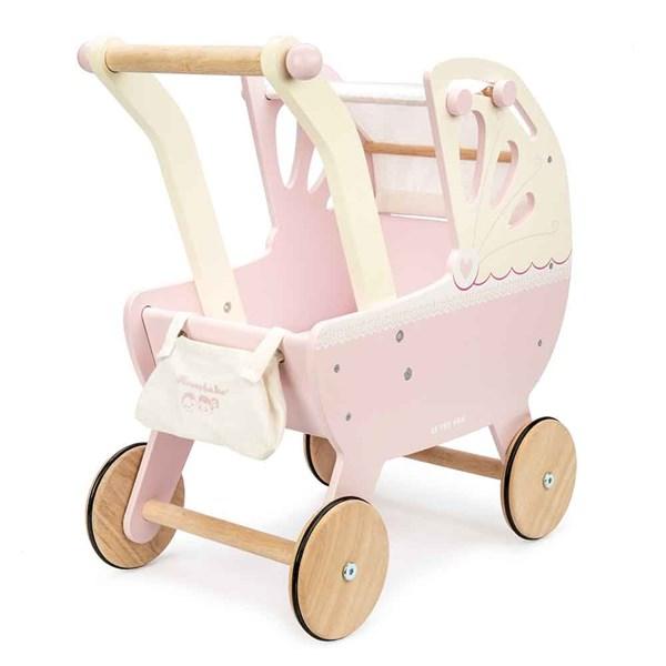 Le Toy Van Sweet Dreams Pram in Pink