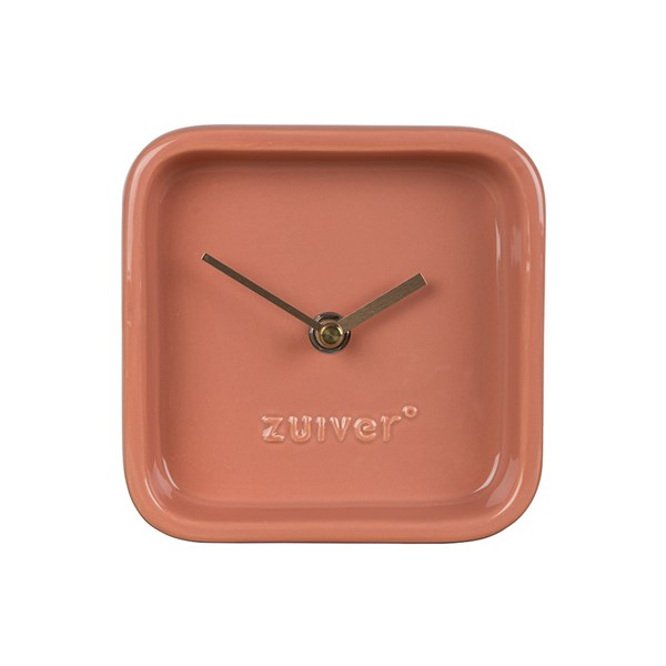 Zuiver Cute Desk Clock in Pink