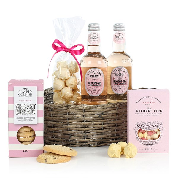 The Pink Gin & Treats Luxury Gift Hamper