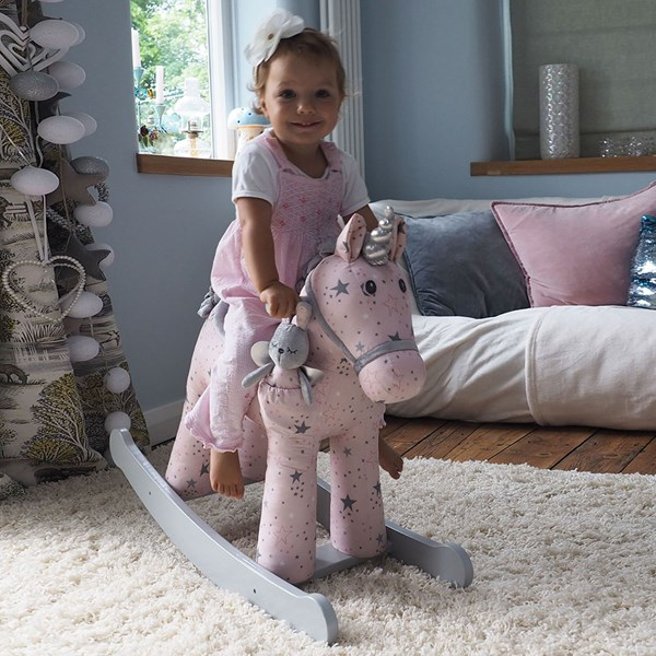 Celeste & Fae Unicorn Rocker Rocking Horse 12+ Months