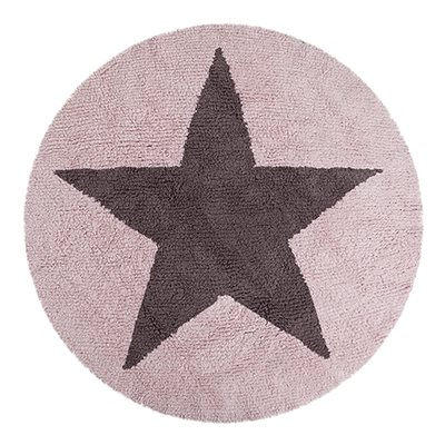 KIDS WASHABLE RUG in Reversible Star Design