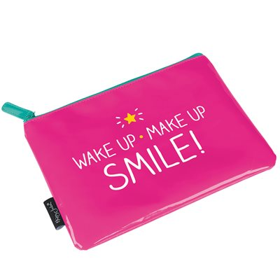 WAKE UP MAKE UP BAG from Happy Jackson
