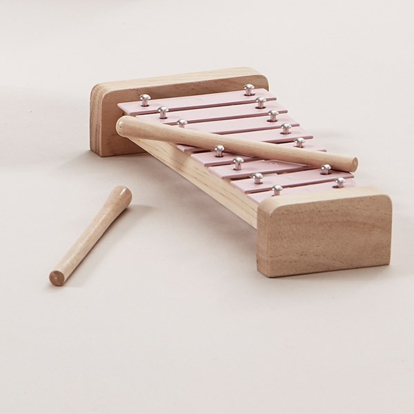 Children's Toy Xylophone in Pink