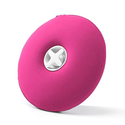 Award Winning Pill Hot Water Bottle with Pull Out Funnel in Pink