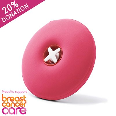 PILL Hot Water Bottle in Pink Supporting Breast Cancer Care