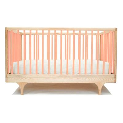 KALON STUDIOS CARAVAN COT & TODDLER BED in Pink