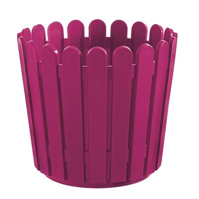 LANDHAUS ORIGINAL ROUND GARDEN PLANTER in Pink