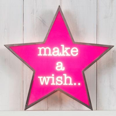 LIGHT BOX in Make A Wish Design