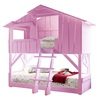 Pink Kids Mathy By Bols Treehouse Bunk Bed