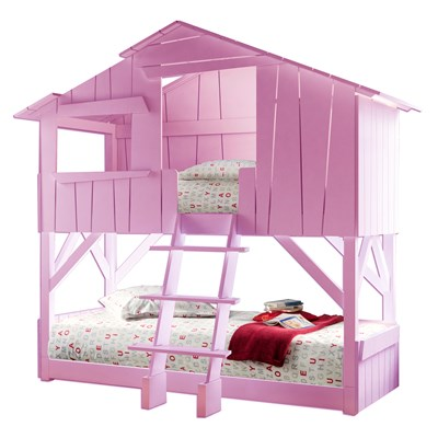... Pink Tree House Cutout HiRes ...