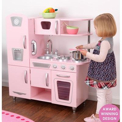 KIDS VINTAGE KITCHEN in Pink