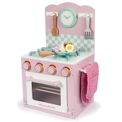 LE TOY VAN HONEYBAKE WOODEN PLAY KITCHEN Oven and Hob Set