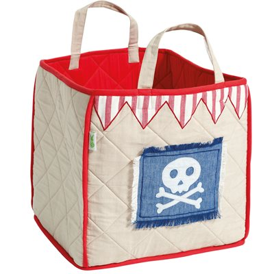 PIRATE SHACK Toy Bag by Win Green