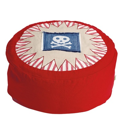 PIRATE SHACK Bean Bag by Win Green