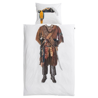 Snurk Childrens Pirate Duvet Bedding Set