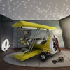 Sky B Plane Junior Bed in Yellow - Worlds Best Bed