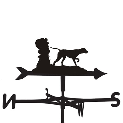 WEATHERVANE in Pointer Dog Design