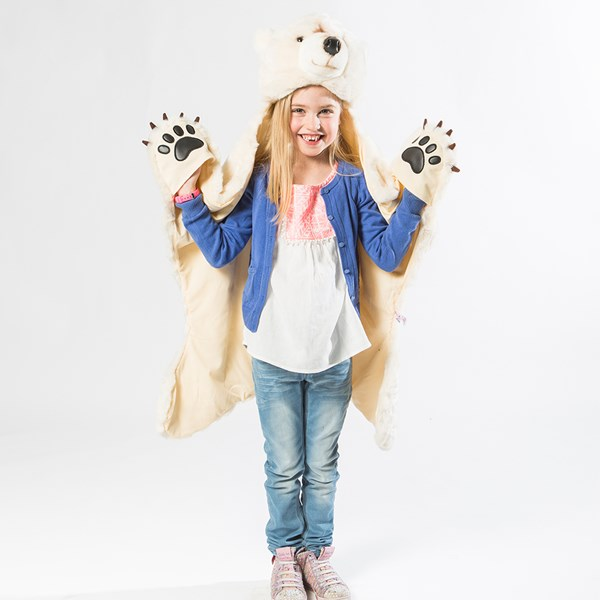 Unusual Polar Bear Kids Costume