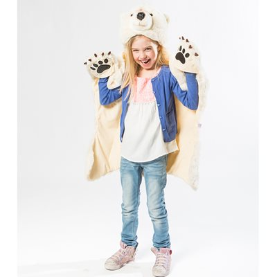RATATAM! KIDS POLAR BEAR DRESS UP DISGUISE