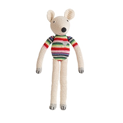 POLLY Soft Toy in Mix Stripe