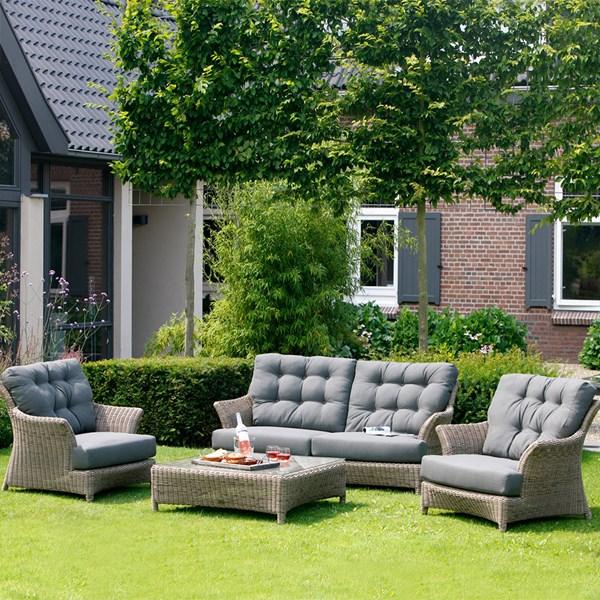 Valentine Rattan Garden Lounge Set by 4 Seasons Outdoor