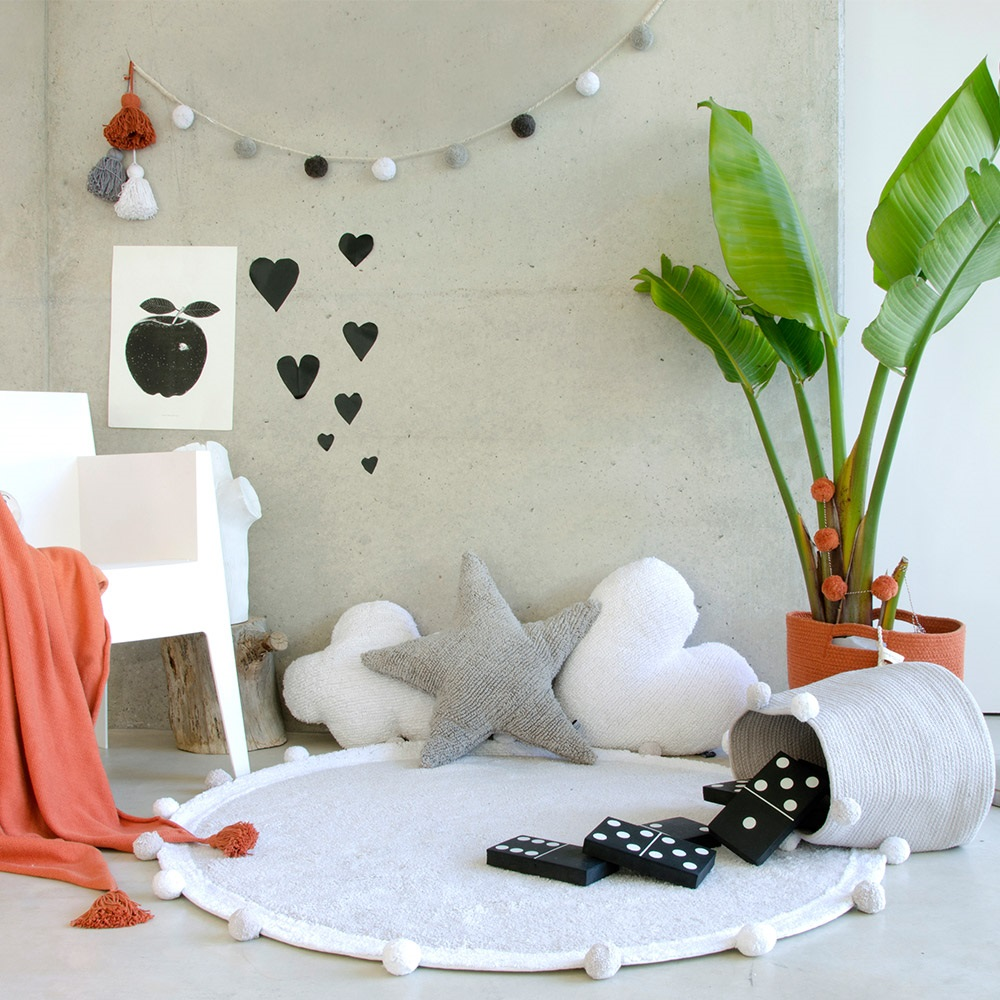 Pompom Washable Rugs For Any Room In