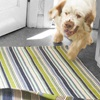 Pond Striped Green & Blue Indoor Outdoor Rug