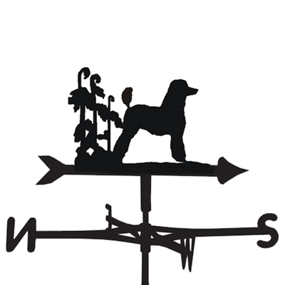 WEATHERVANE in Poodle Design